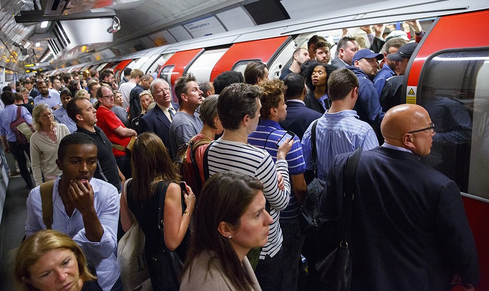 TWO working days lost each week to the daily commute